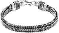D&D Blissful Style Alloy Silver Plated Bracelet