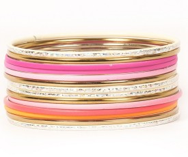Urthn Alloy Brass Bangle Set