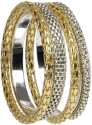 The Pari Brass Bangle Set - Pack Of 4