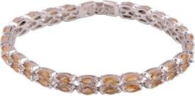 Silver Prince Silver Citrine Bracelet