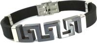 Ammvi Creations 3D Greek Symbol For Men Stainless Steel Bracelet