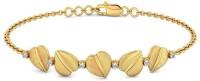 BlueStone The Striking Flora Yellow Gold 14kt Diamond Bracelet