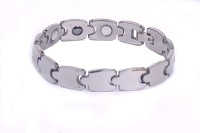 Nature Therapy Stylish Tungsten With Magnetic Healing Metal Titanium Plated Bracelet