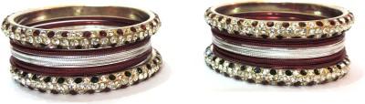 Aadhya B01_25 Brass, Alloy, Stone Bangle Set