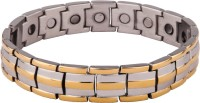 Aarogyam Energy Jewellery Bold And Handsome Stainless Steel Bracelet