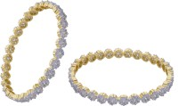 Hyderabad Jewels Alloy, Silver Bangle Set Pack Of 2