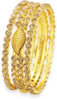 Sukkhi Alloy 18K Yellow Gold Bangle Set Pack Of 3 - BBAEGPKTPKRZZMCE