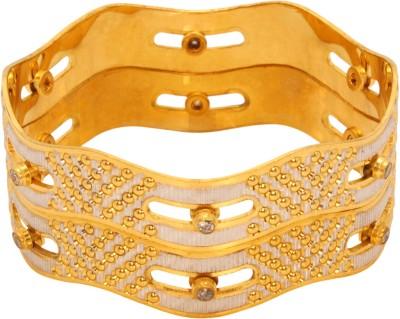 Vendee Fashion Fancy Designer Brass Bangle Pack of 2