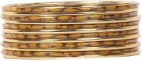 Urthn Alloy Brass Bangle Set Pack Of 12