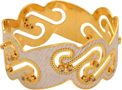 Vendee Fashion Snake Design Brass Bangle
