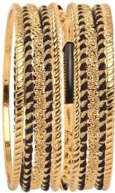Vaishali Bindi and Bangles Brass, Copper Bangle Set