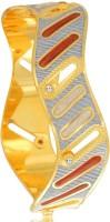 Sukkhi Glorious Dancing Stone Alloy Yellow Gold, Rhodium Plated Bangle
