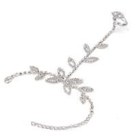 The Peacock Studio Copper Ring Bracelet
