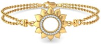 BlueStone The Sunflower Of Loyalty Yellow Gold 14kt Diamond Bracelet - BBAEB73NXSEHXFJM