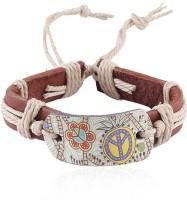 Jewelizer Faux Leather Bracelet - BBAE4SX5BPFANPSJ