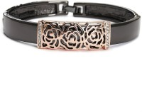 Blinglane Filigree Rose Copper Rose Gold Plated Bangle