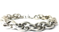 Ammvi Creations Bold Links Austenitic For Men Stainless Steel Bracelet