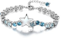 NEVI Star Alloy, Crystal Swarovski Crystal, Crystal Bracelet