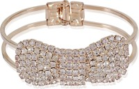 Cinderella Collection By Shining Diva Dazzling Bow Alloy Bracelet