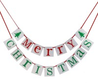 Magideal Merry Christmas Banner (7 Ft, Pack Of 1)