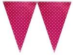 Smartcraft Polka Dotted Flag Hot Pink