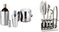 Chevyo Party Kit-Shake, Strain, Mix And Pour 9 - Piece Bar Set (Stainless Steel)