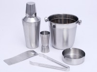 Ideal Home 6 - Piece Bar Set (Stainless Steel)