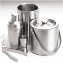 King International 5 - Piece Bar Set - Stainless Steel