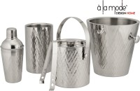 Alamode Design Home 5 - Piece Bar Set (Stainless Steel)