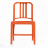 CBM Plastic Bar Chair (Finish Color - Orange)
