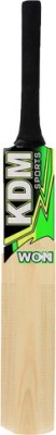 Kdm Sports Won Series Poplar Willow Cricket  Bat (Short Handle, 1100 g)