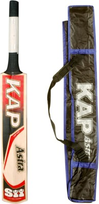 SII Kap Astra Kashmir Willow Cricket  Bat (Harrow, 1200-1500 g)