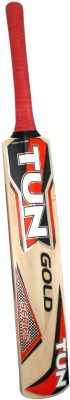 VSM Tun Gold Kashmir Willow Cricket  Bat (Short Handle, 1000-1200 g)