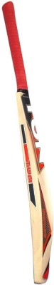 VSM Tun Gold Kashmir Willow Cricket  Bat (Short Handle, 1000-1200 g)