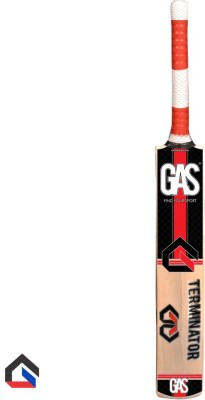 GAS Terminator Kashmir Willow Cricket  Bat (Short Handle, 700-1200 g)