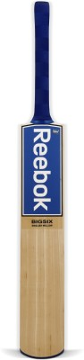 Reebok Big Six English Willow Cricket  Bat (Long Handle, 1000 - 1250 g)