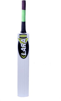 LARA ZIGMA Kashmir Willow Cricket  Bat (Short Handle, 1100-1250 g)