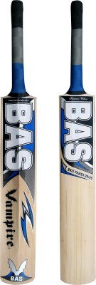 BAS Vampire Brig Power Drive Kashmir Willow Cricket  Bat (Short Handle, 1150-1350 g)