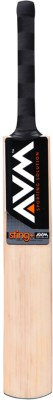 AVM Sting+ Kashmir Willow Cricket  Bat (Short Handle, 1025 g)