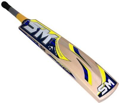 SM Fanatic Kashmir Willow Cricket  Bat (Harrow, 900 - 2000 g)