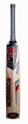 RS Robinson Recorder Kashmir Willow Cricket  Bat (Short Handle, 1100-1250 g)