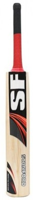 SF Power Spot Kashmir Willow Cricket  Bat (Short Handle, 1100-1300 g)