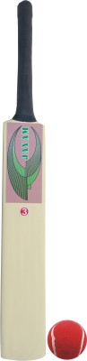 JAYAM FIRE WING (Size 3 Bat With Ball) Poplar Willow Cricket  Bat (3, 650-800 g)