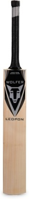 Wolfer Leopon English Willow Cricket  Bat (Short Handle, 1000-1300 g)