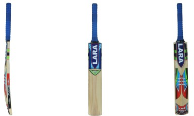 Lara Worldcup Kashmir Willow Cricket  Bat (Short Handle, 1200-1250 g)
