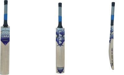 Lara Super Shot Kashmir Willow Cricket  Bat (Short Handle, 1200-1250 g)