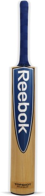 Reebok Top Shot English Willow Cricket  Bat (Long Handle, 1000 - 1250 g)