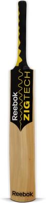 Reebok Zig Tech Kashmir Willow Cricket  Bat (Short Handle, 1000 - 1250 g)