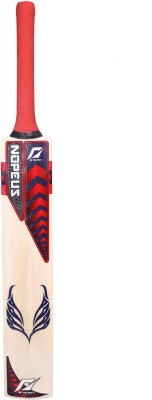 NOPEUS CHOPPER PRO BLUE RED Poplar Willow Cricket  Bat (Short Handle, 1060 g)