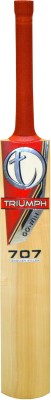 Triumph 707 Series English Willow Cricket  Bat (Short Handle, 1100-1280 g)